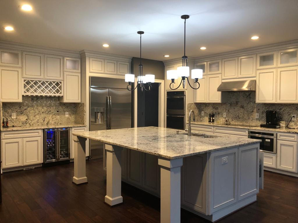 Brilliant Granite Countertop In Chantilly Virginia Crystal Kitchen Home Interior And Landscaping Staixmapetitesourisinfo