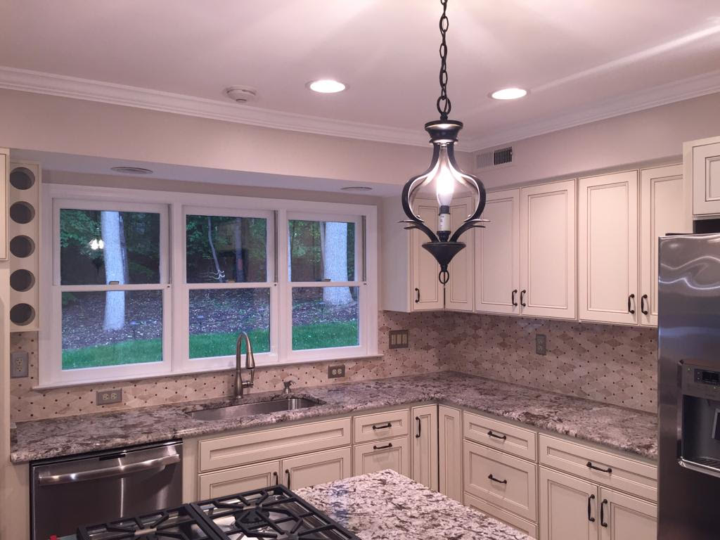 Awesome Granite Countertop In Chantilly Virginia Crystal Kitchen Home Interior And Landscaping Staixmapetitesourisinfo